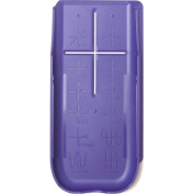 TI-84 Purple Hard Slide Case-Cover For TI 84 Plus, TI 84 Plus C Silver Edition Colour, TI 89 Titanium Graphing
