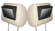 Autopro HS701x 2 Universal Headrest 18cm Screen LCD Monitor