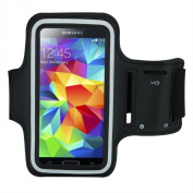 Iwotou Protective Gym Running Jogging Sport Armband Case for Samsung Galaxy S5 G900 with Free Cleaning Cloth and Wristband