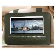 Black Car Headrest Moust Strap Holder Case For Portable DVD Player