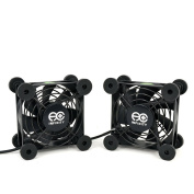 AC Infinity AI-MPF80A2 Quiet Dual 80mm USB Fan for Receiver DVR Playstation Xbox Computer Cabinet Cooling