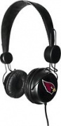 Tribeca Arizona Cardinals 3.5 mm stereo Headphones with BuiltIn Microphone/remote-Black