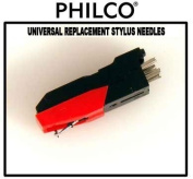 """Philco"" Universal Turntable Replacement Stylus Needle"