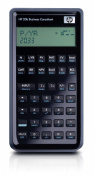 HP 20b Business Consultant Financial Calculator