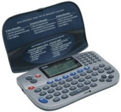 256KB 4-Line Electronic Organiser with Built-In Calculator
