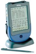 Royal Excelsior 384kb memory touch sreeen organiser, 6-line backlit display, PC sync software