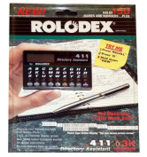 """Rolodex """"The 411 Directory Assistant"""" 3k Memory the Electronic Little Black Book Electronic Organiser. Holds 150 Names and Numbers."""
