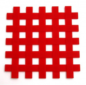 SUNCRAFT dishmat silicon lattice type red SIG-18