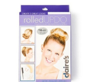 Rolled Updo Hair Styling Kit - Blond