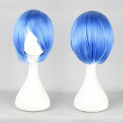 MapofBeauty Short Straight Cosplay Costume Wig Party Wig