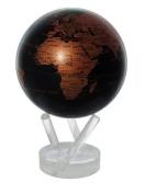 11cm Copper and Black Earth MOVA Globe