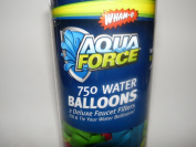 750 Water Balloons with 2 Deluxe Faucet Fillers
