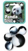 Panda Game Net Set 25 Piece Glass Mega Marbles Toy