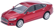 GreenLight 2013 Ford Fusion -Tinted Clearcoat Diecast Vehicle, Ruby Red Metallic, 1:43 Scale