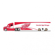 NHL Detroit Red Wings Top Dog Tractor Trailer Transport 1:64 Scale Diecast