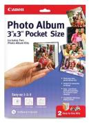 Canon Create-Your-Own Photo Album Pocket Sized, 7.6cm x 7.6cm , 2 Kits
