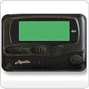 Apollo Gold AL25 Alphanumeric Pager Hand Programmable