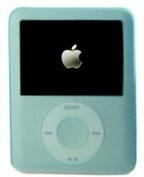 Light Blue Silicone Case/Skin/Protector/Cover for Apple 3rd Generation iPod Nano Video/Graphic, both Nano 4GB and Nano 8GB.