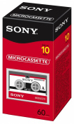 Sony 60 Minute Micro Cassette 10-Pack