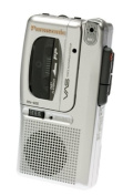 Panasonic RN405 Micro Cassette Recorder with Voice Activation System and Tape Counter