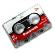 Panasonic Microcassette MC-60 Tape - 3-Pack