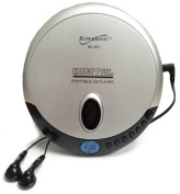 Supersonic SC251 Portable Slim CD Player