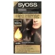Syoss Oleo Intense Hair Permanent Intensive Oil Colour No.4-00 Medium Brown