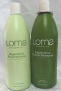 Loma Organics Repairative Creme Shampoo/ReConstructor Conditioner Duo 1000ml