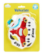 Vehicles (Ring-Bound Baby Books) [Board book]