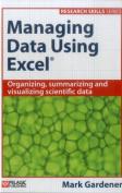 Managing Data Using Excel