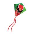 X-Kites MicroDiamond Kite 7.75 - Red Power Ranger