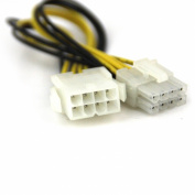 VCOM 30cm VC-POW8EXT 8-Pin to 8-Pin Power Supply Extension Cable