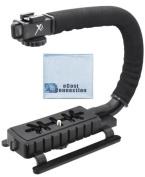 Pro Series Professional Video Stabilising Handle For Canon, Nikon, Sony, Olympus, Pentax, Fuji, Panasonic, JVC Camcorders & More