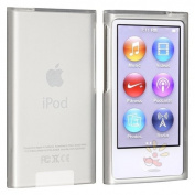 Everydaysource compatible with Apple® iPod nano® 7th Generation Frost Clear White Soft TPU Case