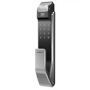 for for for for for for for for for for Samsung Digital Door Lock SHS-P718 Fingerprint Push Pull Two Way Latch Mortise