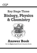 KS3 Science Answers for Study & Question Books (Biology/Chemistry/Physics) - Higher