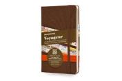 Moleskine Voyageur Traveller's Notebook, Hard Cover, Nutmeg Brown