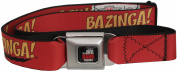 Big Bang Theory Red Bazinga Seatbelt Belt