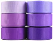 HipGirl 2.2cm Solid Grosgrain Ribbon Mini Collection