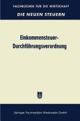 Einkommensteuer-Durchfuhrungsverordnung (Estdv 1957) [GER]