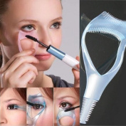 3 in 1 Mascara Applicator Guide Tool Eyelash Comb Makeup Helper DIY Beauty Comestic AOSTEK