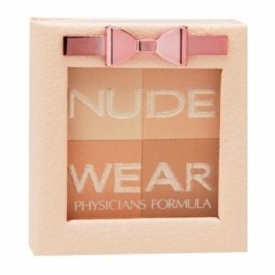 Physicians Formula Nude Wear Glowing Nude Powder, Medium, 6218 .710ml