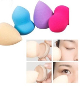 4 Pcs Set Makeup Blender Sponges Egg/Water/Tear Drop/Bottle Gourd Shaped Beauty Flawless Makeup Blender Foundation Puff Sponges AOSTEK