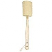 Earth Therapeutics Exfoliating Loofah Back Massager Brush 41cm Loofahs