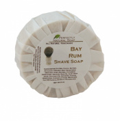 Bay Rum All Natural Handmade Shave Soap - New Formula, 90ml