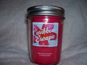 Bath and Body Works Caribbean Escape Mason Jar Candle 180ml