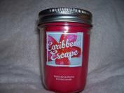 Bath and Body Works Caribbean Escape Mason Jar Candle 180ml