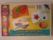 3-in-1 Activity Pad Construction Paper/Tracing Paper/Scribble Paper