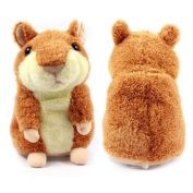 The Cute Mimicry Pet Hamster Talking Plush Animal Toy Electronic Hamster Mouse