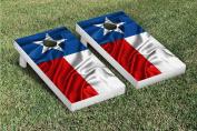 Texas Rippled Flag Cornhole Game Set
